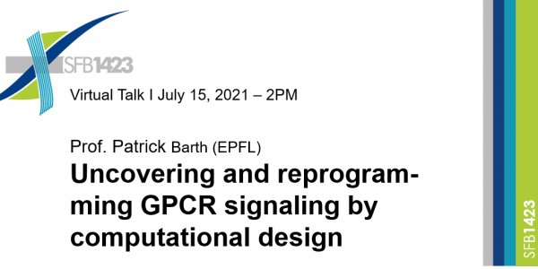 Scientific Talk – Uncovering and reprogramming GPCR signaling by computational design